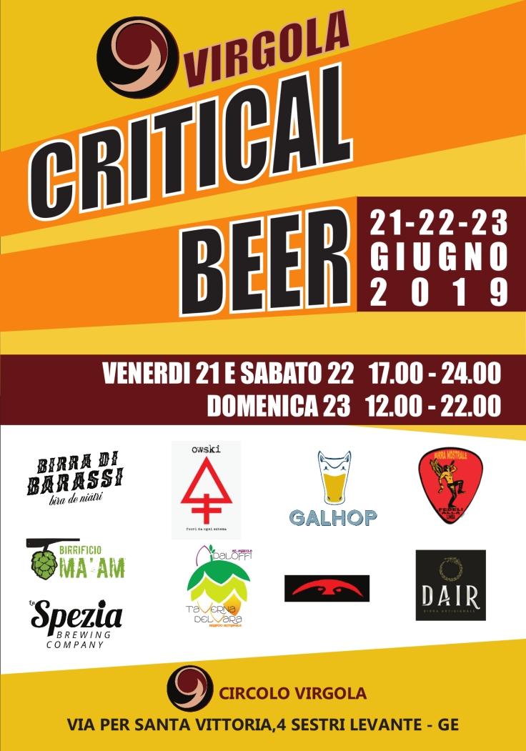 critical BEER 2019-2